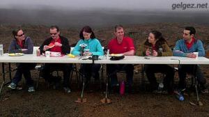 Mars simülasyonu 12 ay sonunda tamamlandı.6 kişilik ekibin ilk yemeği