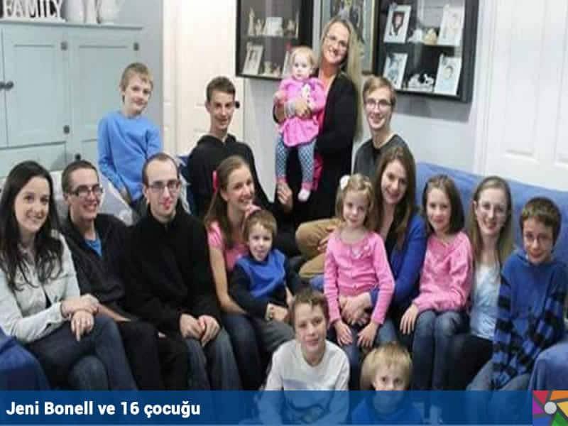 Zamanında çocuk istemeyen annenin şimdi 16 çocuğu var
