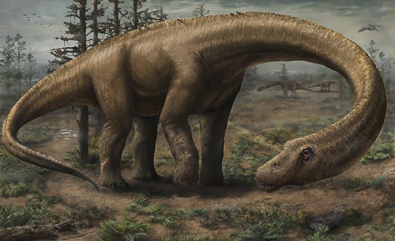 Titanozor (Titanosaurus)