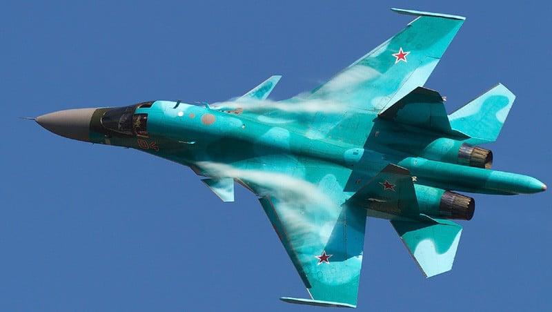 Sukhoi Su 34 Savaş Uçağı