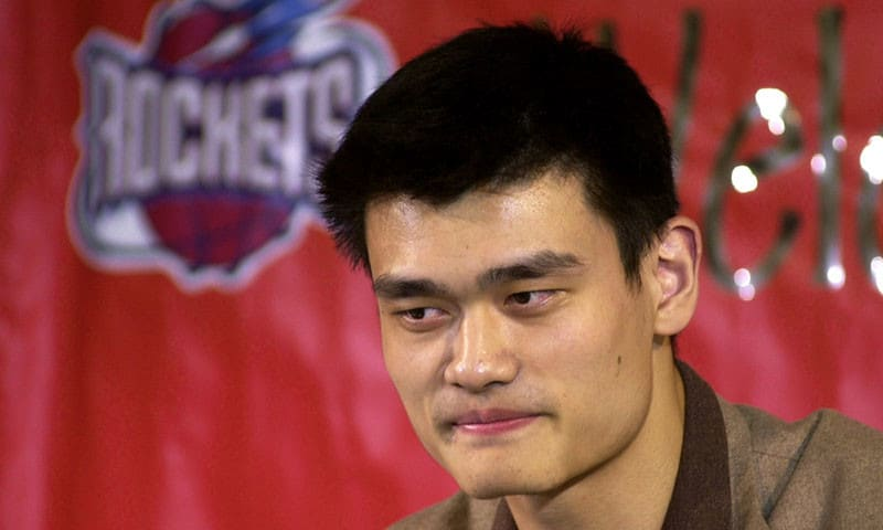 Eski Houston Rockets'lı basketbolcu Yao Ming