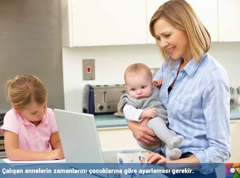 Çalışan bir annenin zorluklara karşı 6 etkin mücadele yolu | Çocuklara Zaman ayırın.