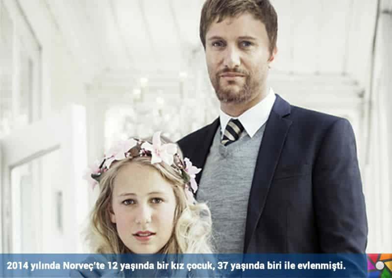 Dünyada her 7 saniyede bir çocuk gelin evleniyor! | Norveç'te yaşanan ender bir çocuk gelin vakası