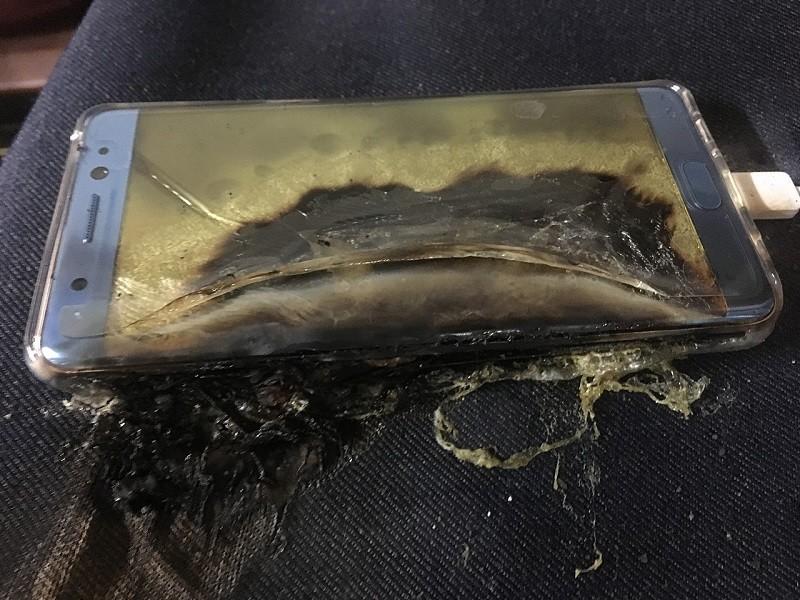Samsung Galaxy Note 7 tarih oldu   artık üretilmeyecek   Patlayan Samsung galaxy note 7
