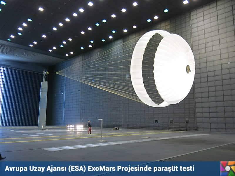 Schiaparelli Mars'a indi. | Testleri ESA'da yapıldı.