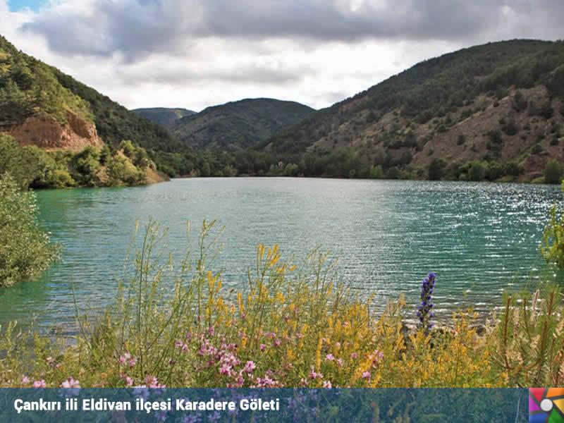 Türkiye'de nefes alınabilen tek il : Çankırı | Karadere Göleti