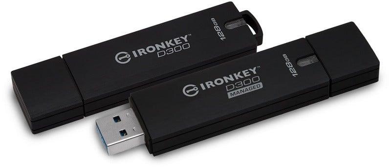 Üst Düzey Güvenlikli USB Stickler Kingston'dan