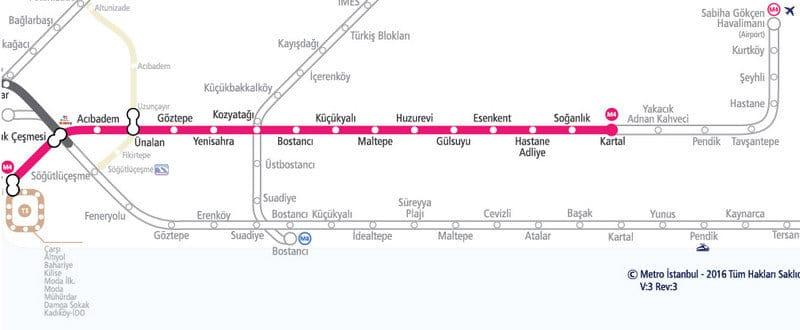 Yakacık Pendik Tavşantepe Metrosu Açıldı! | M4 metro istasyon hattı güzergahı